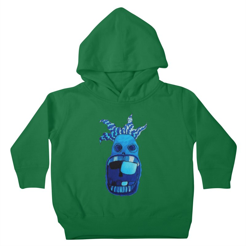 BLUE WALLY!  Kids Toddler Pullover Hoody by Baston's T-Shirt Emporium!