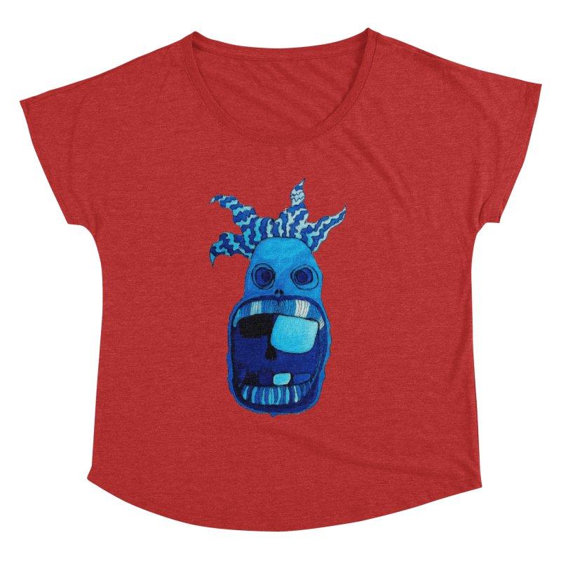 BLUE WALLY!  Women's Dolman by Baston's T-Shirt Emporium!