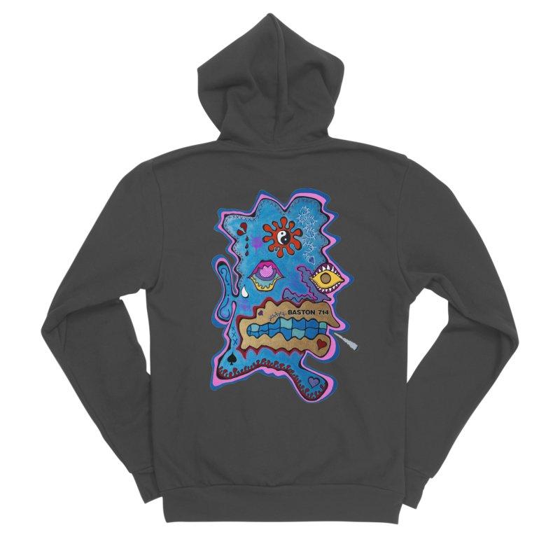 Tripper's Delight Men's Sponge Fleece Zip-Up Hoody by Baston's T-Shirt Emporium!