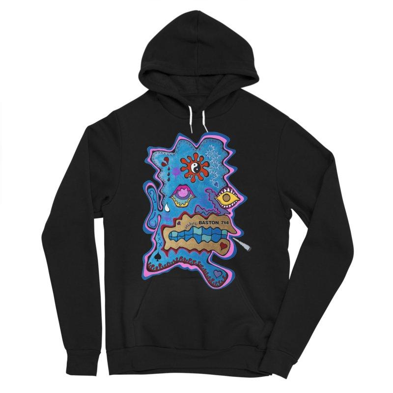 Tripper's Delight Men's Sponge Fleece Pullover Hoody by Baston's T-Shirt Emporium!