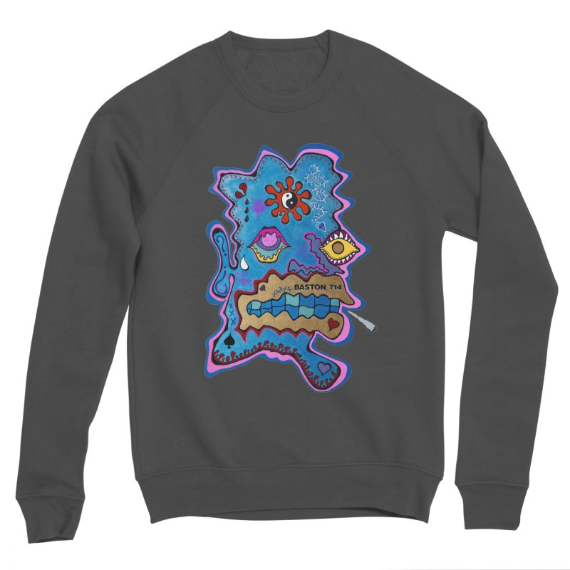 Tripper's Delight Men's Sponge Fleece Sweatshirt by Baston's T-Shirt Emporium!