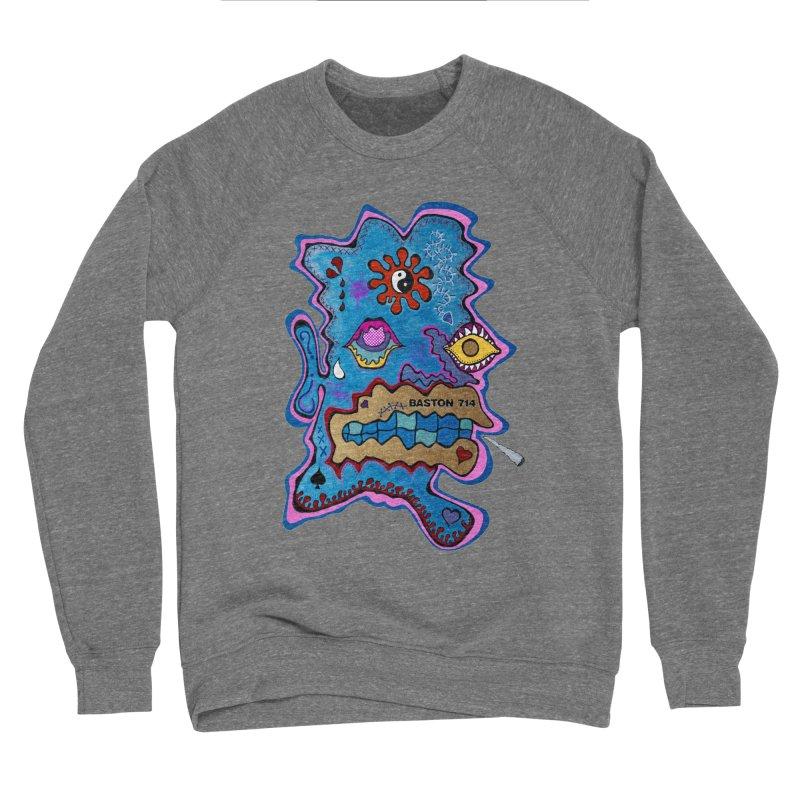 Tripper's Delight Men's Sponge Fleece Sweatshirt by Baston's T-Shirt Emporium!