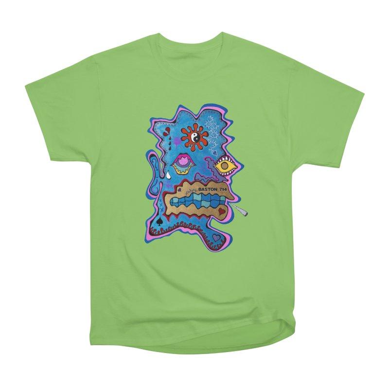 Tripper's Delight Women's Heavyweight Unisex T-Shirt by Baston's T-Shirt Emporium!
