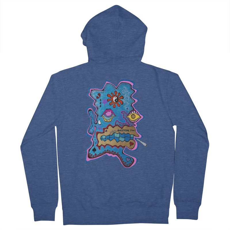 Tripper's Delight Men's French Terry Zip-Up Hoody by Baston's T-Shirt Emporium!