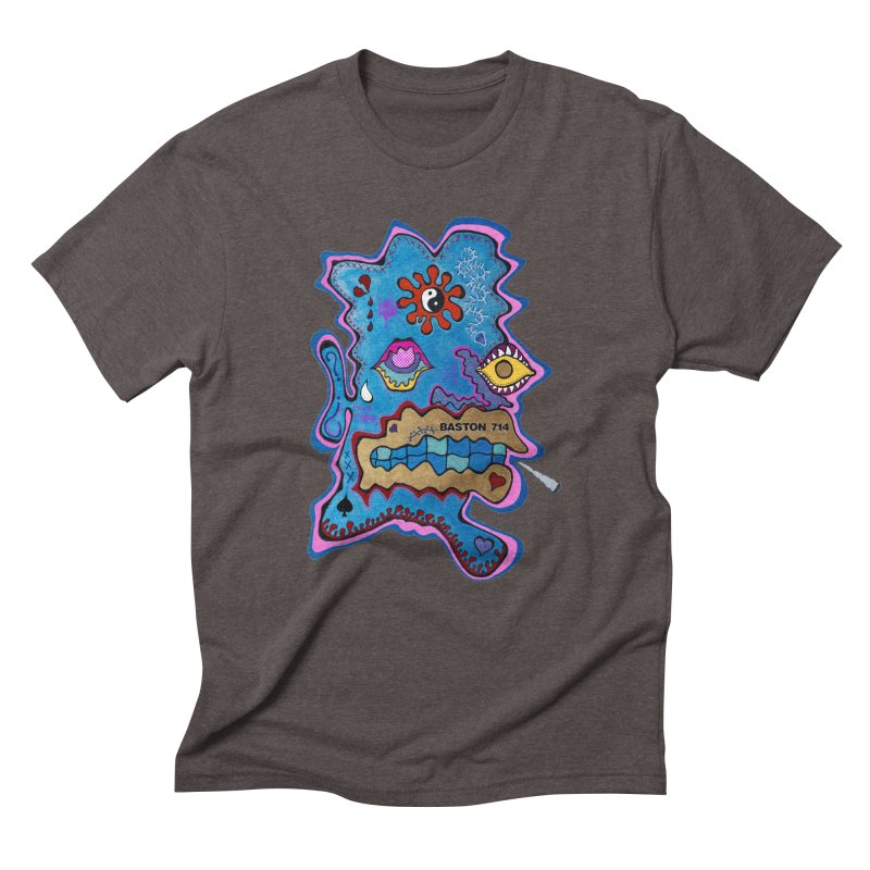 Tripper's Delight Men's Triblend T-Shirt by Baston's T-Shirt Emporium!