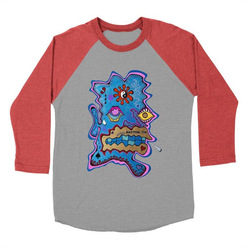 Tripper's Delight Men's Baseball Triblend Longsleeve T-Shirt by Baston's T-Shirt Emporium!