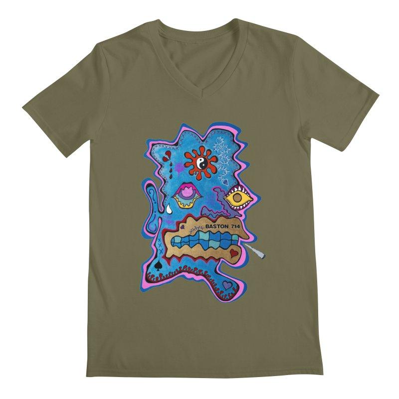 Tripper's Delight Men's Regular V-Neck by Baston's T-Shirt Emporium!