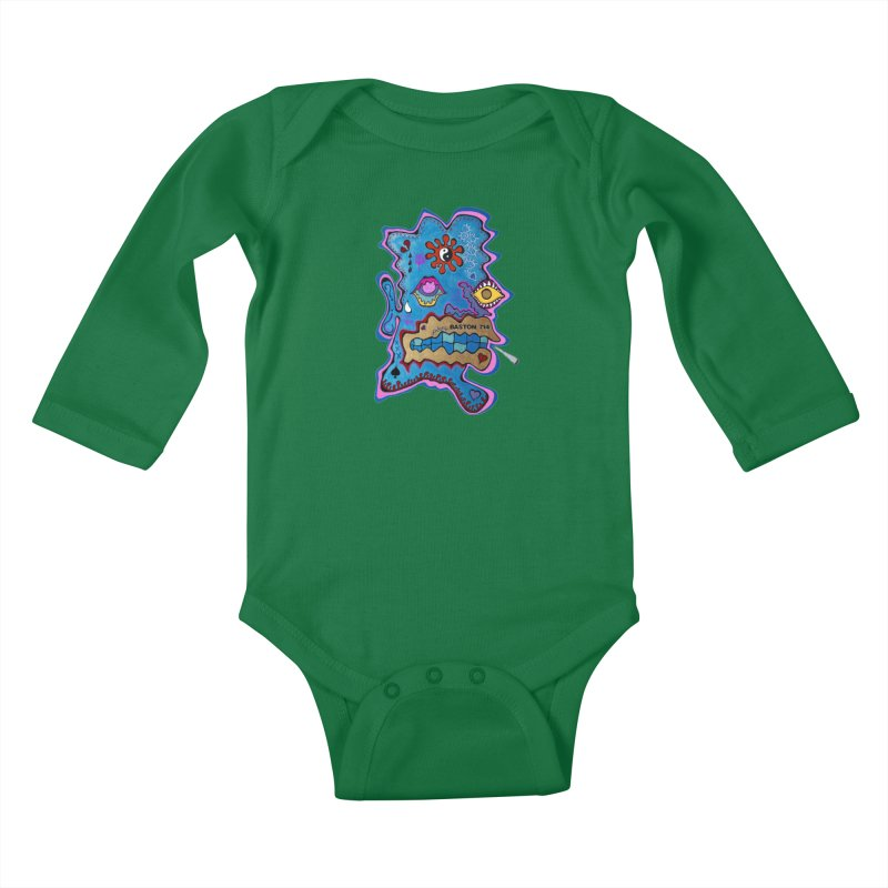 Tripper's Delight Kids Baby Longsleeve Bodysuit by Baston's T-Shirt Emporium!