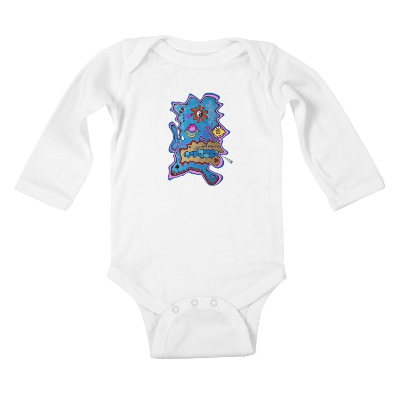 Tripper's Delight Kids Baby Longsleeve Bodysuit by Baston's T-Shirt Emporium!