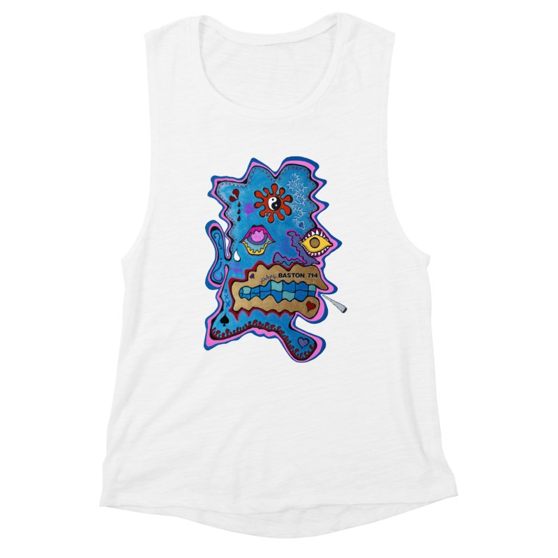 Tripper's Delight Women's Muscle Tank by Baston's T-Shirt Emporium!