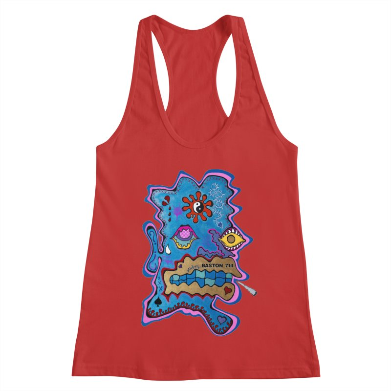 Tripper's Delight Women's Racerback Tank by Baston's T-Shirt Emporium!
