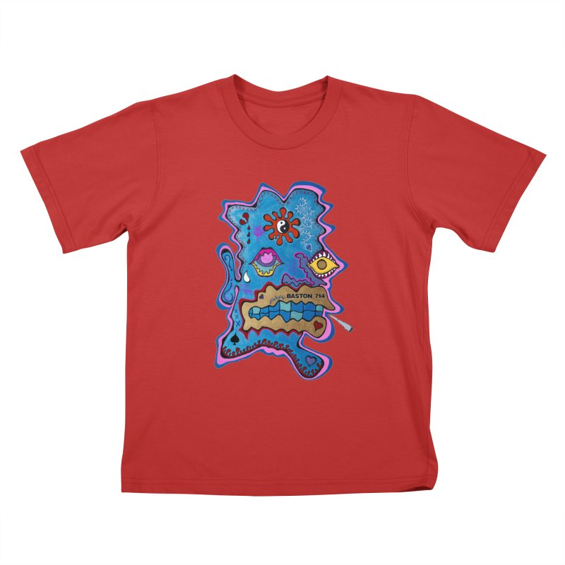 Tripper's Delight Kids T-Shirt by Baston's T-Shirt Emporium!