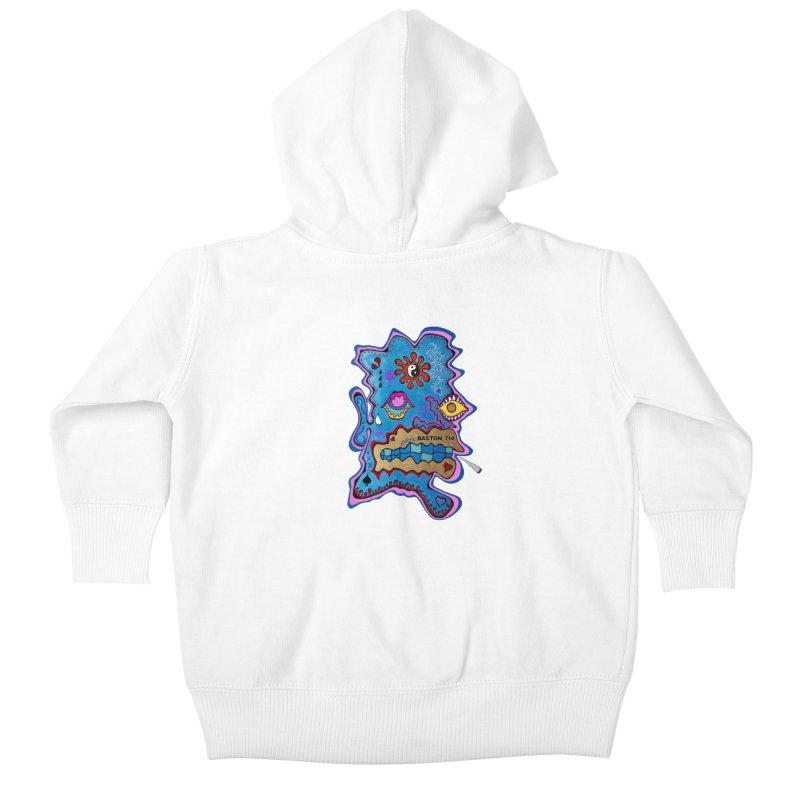 Tripper's Delight Kids Baby Zip-Up Hoody by Baston's T-Shirt Emporium!