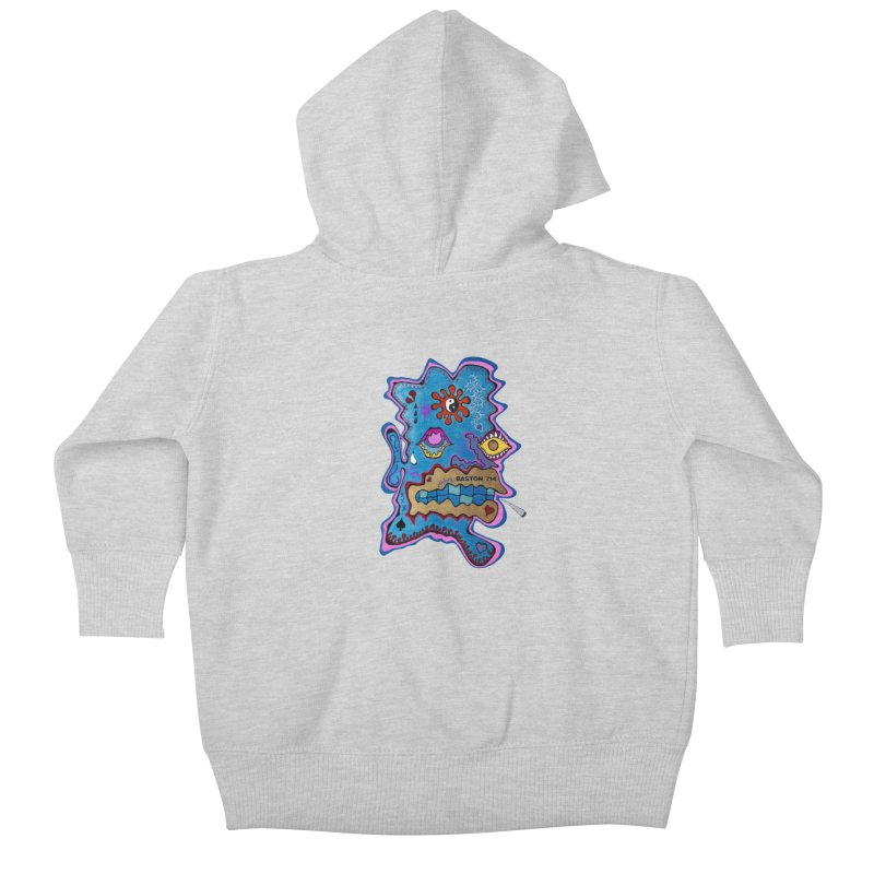 Tripper's Delight Kids Baby Zip-Up Hoody by Baston's T-Shirt Emporium!