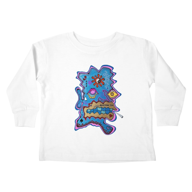 Tripper's Delight Kids Toddler Longsleeve T-Shirt by Baston's T-Shirt Emporium!