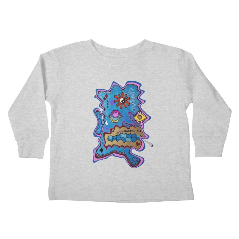 Tripper's Delight Kids Toddler Longsleeve T-Shirt by Baston's T-Shirt Emporium!