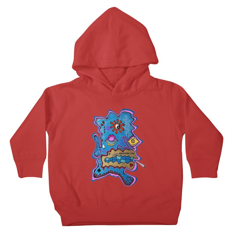 Tripper's Delight Kids Toddler Pullover Hoody by Baston's T-Shirt Emporium!