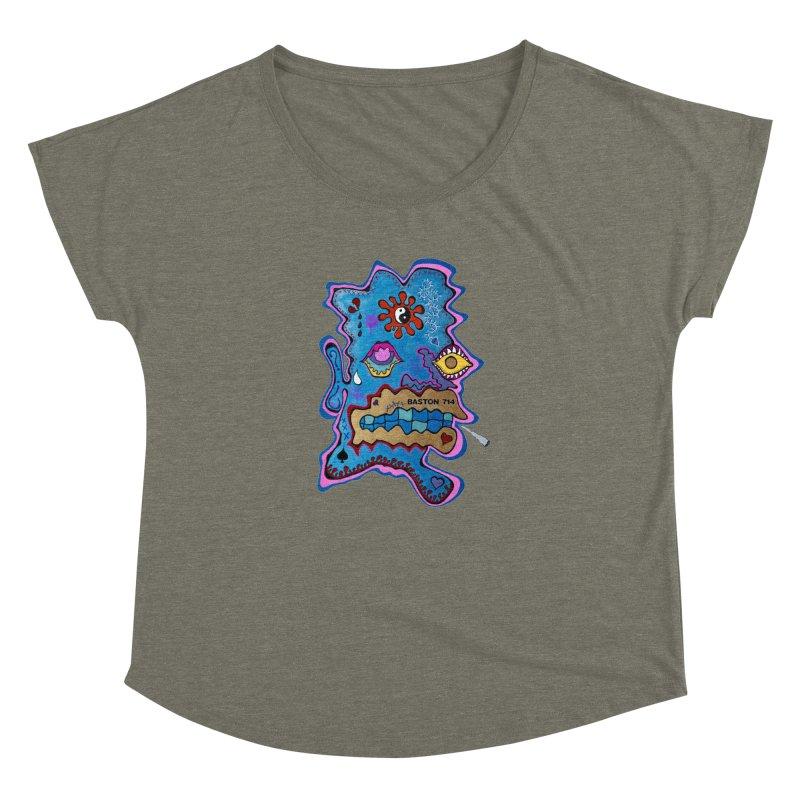 Tripper's Delight Women's Dolman Scoop Neck by Baston's T-Shirt Emporium!