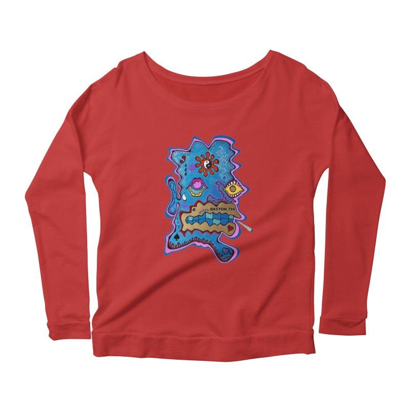 Tripper's Delight Women's Scoop Neck Longsleeve T-Shirt by Baston's T-Shirt Emporium!