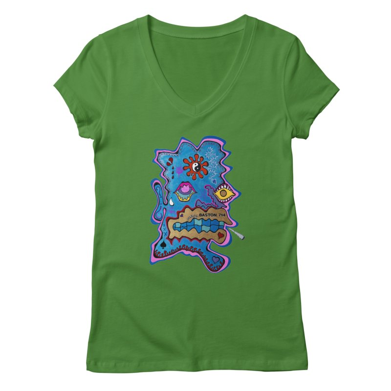 Tripper's Delight Women's Regular V-Neck by Baston's T-Shirt Emporium!