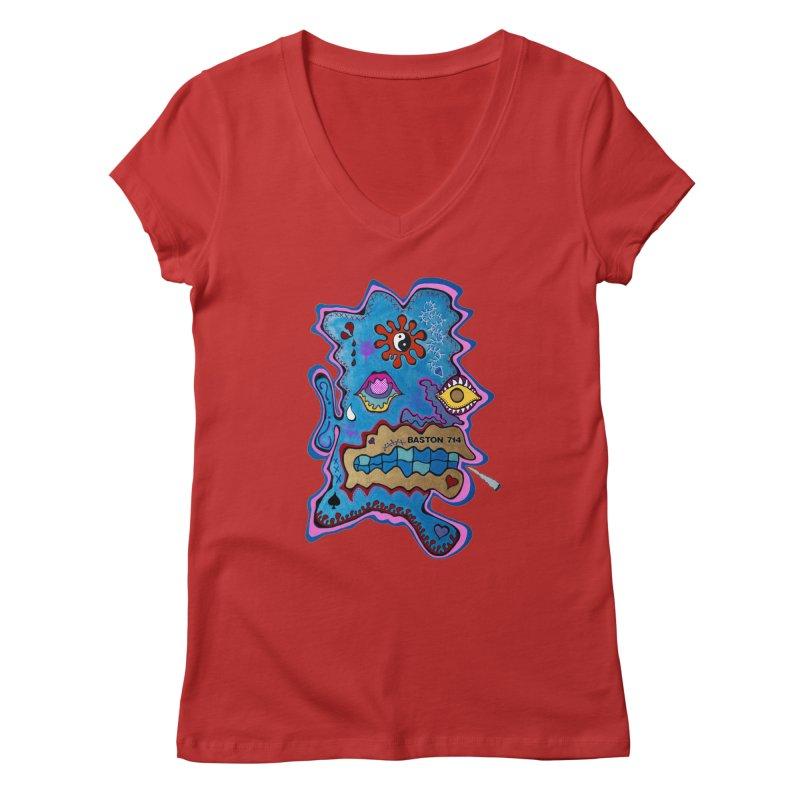 Tripper's Delight Women's Regular V-Neck by Baston's T-Shirt Emporium!