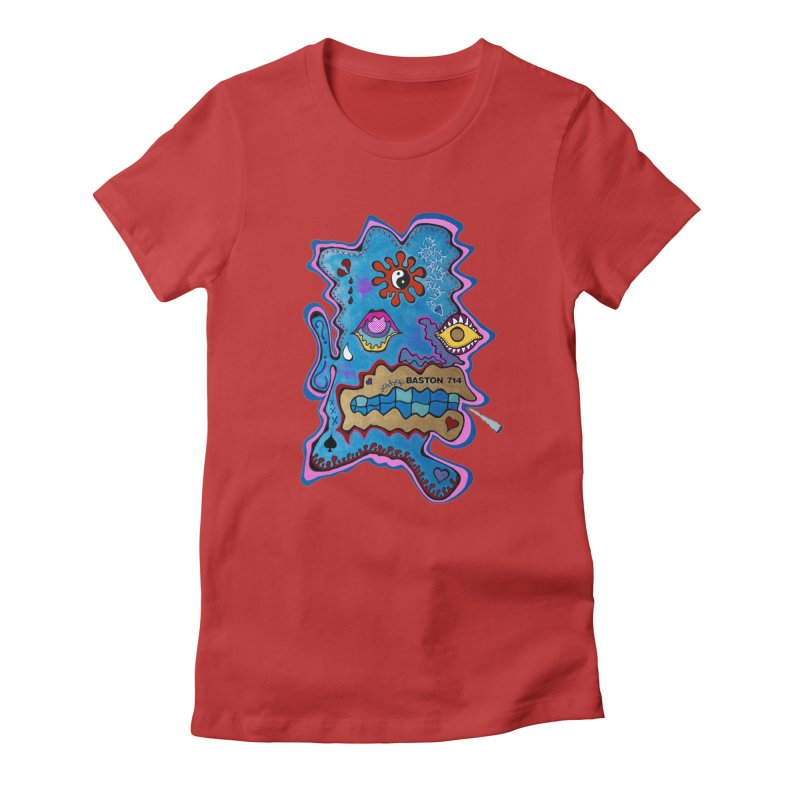 Tripper's Delight Women's Fitted T-Shirt by Baston's T-Shirt Emporium!