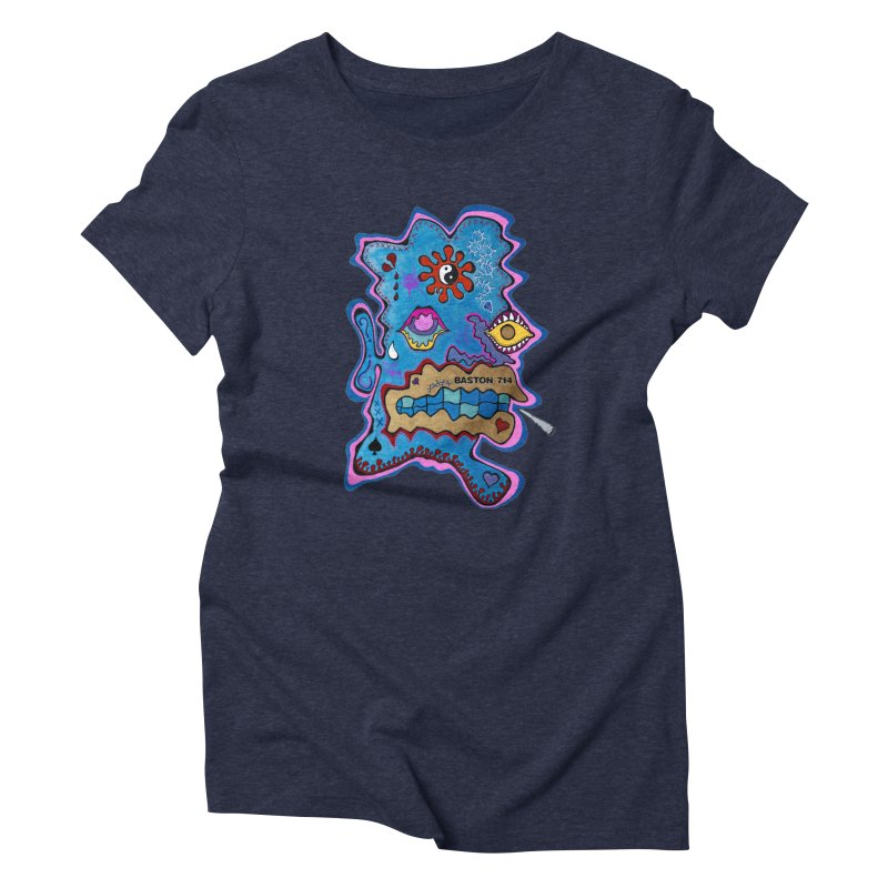 Tripper's Delight Women's Triblend T-Shirt by Baston's T-Shirt Emporium!