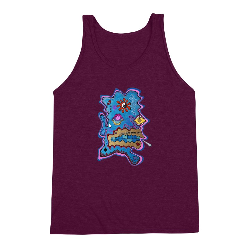 Tripper's Delight Men's Triblend Tank by Baston's T-Shirt Emporium!