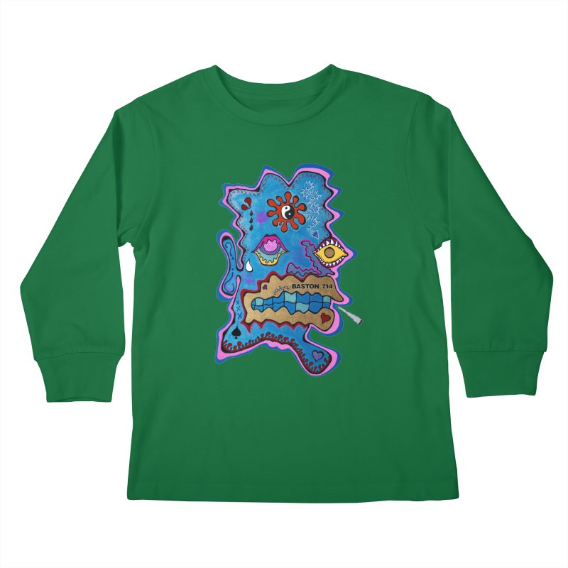 Tripper's Delight Kids Longsleeve T-Shirt by Baston's T-Shirt Emporium!