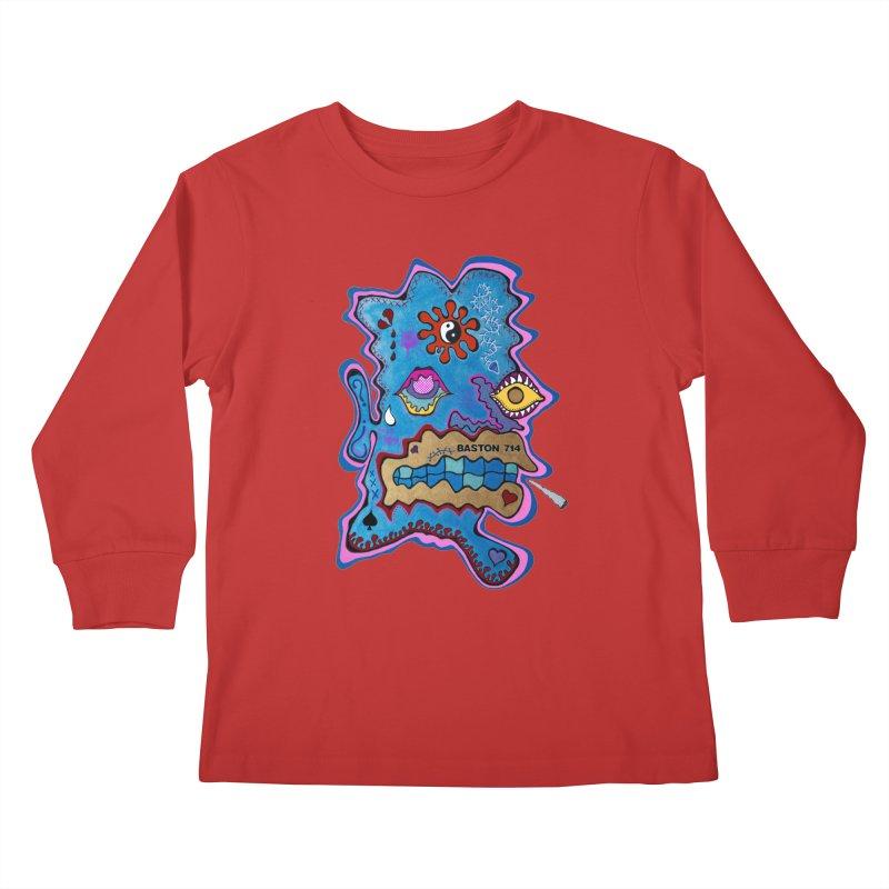 Tripper's Delight Kids Longsleeve T-Shirt by Baston's T-Shirt Emporium!