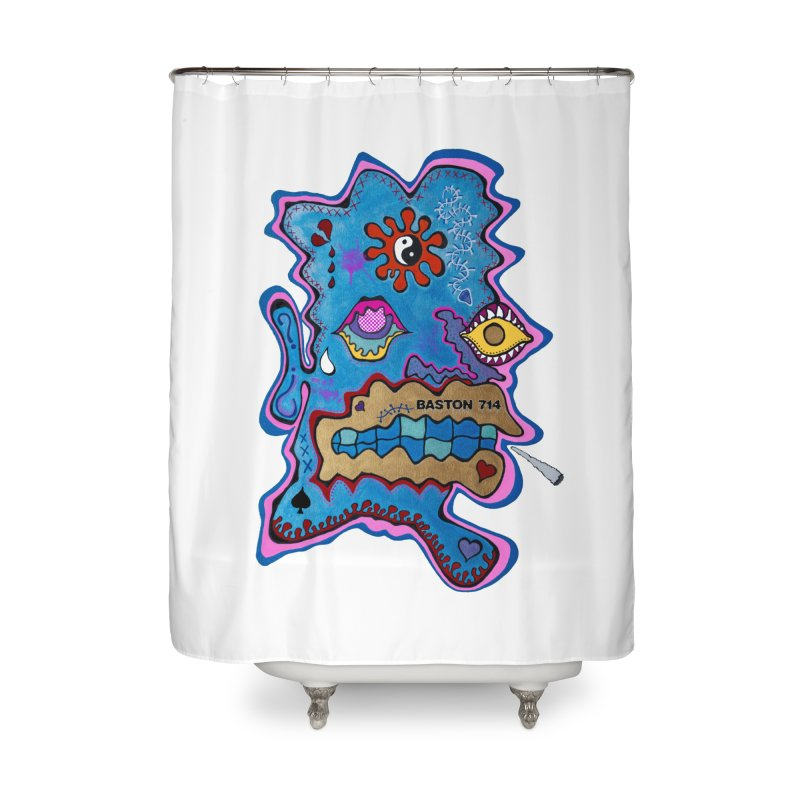 Tripper's Delight Home Shower Curtain by Baston's T-Shirt Emporium!