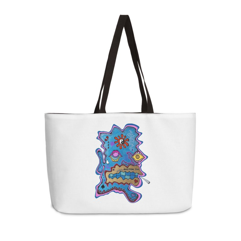 Tripper's Delight Accessories Weekender Bag Bag by Baston's T-Shirt Emporium!