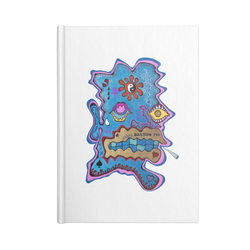 Tripper's Delight Accessories Lined Journal Notebook by Baston's T-Shirt Emporium!