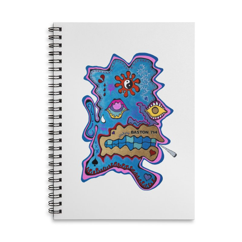 Tripper's Delight Accessories Lined Spiral Notebook by Baston's T-Shirt Emporium!