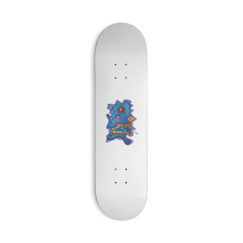 Tripper's Delight Accessories Skateboard by Baston's T-Shirt Emporium!