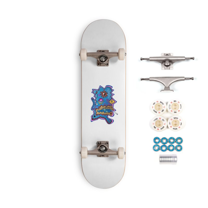Tripper's Delight Accessories Complete - Premium Skateboard by Baston's T-Shirt Emporium!