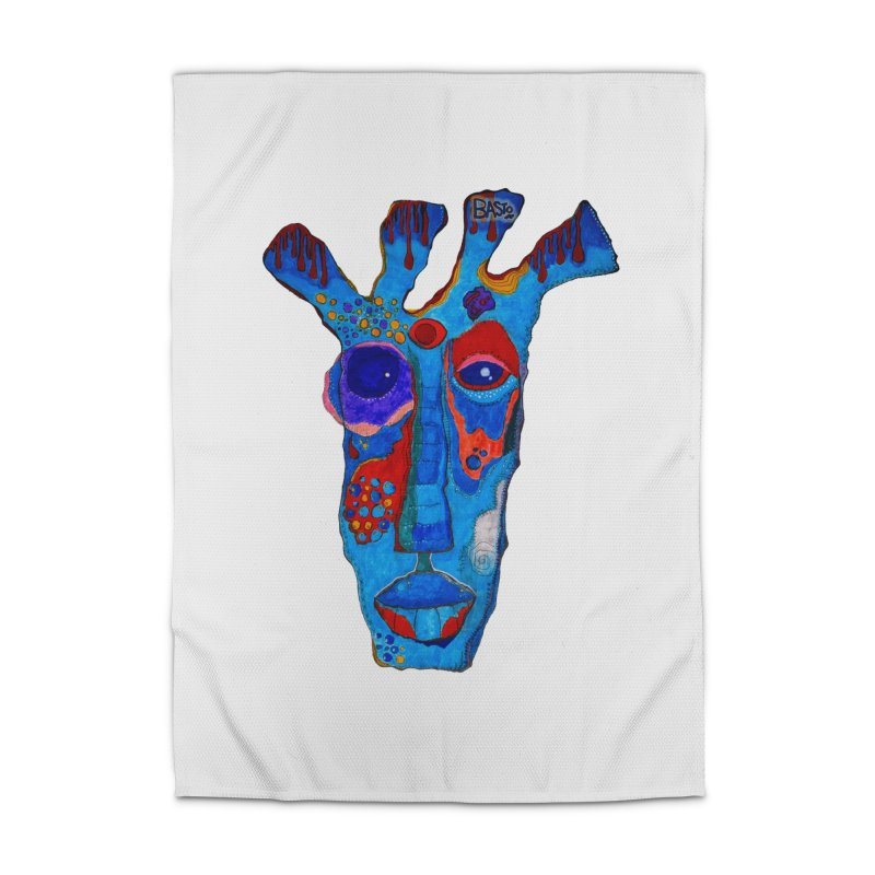 Shamanic Blues Home Rug by Baston's T-Shirt Emporium!