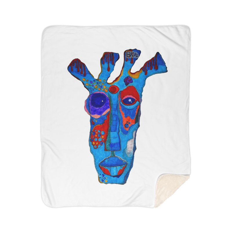Shamanic Blues Home Sherpa Blanket Blanket by Baston's T-Shirt Emporium!