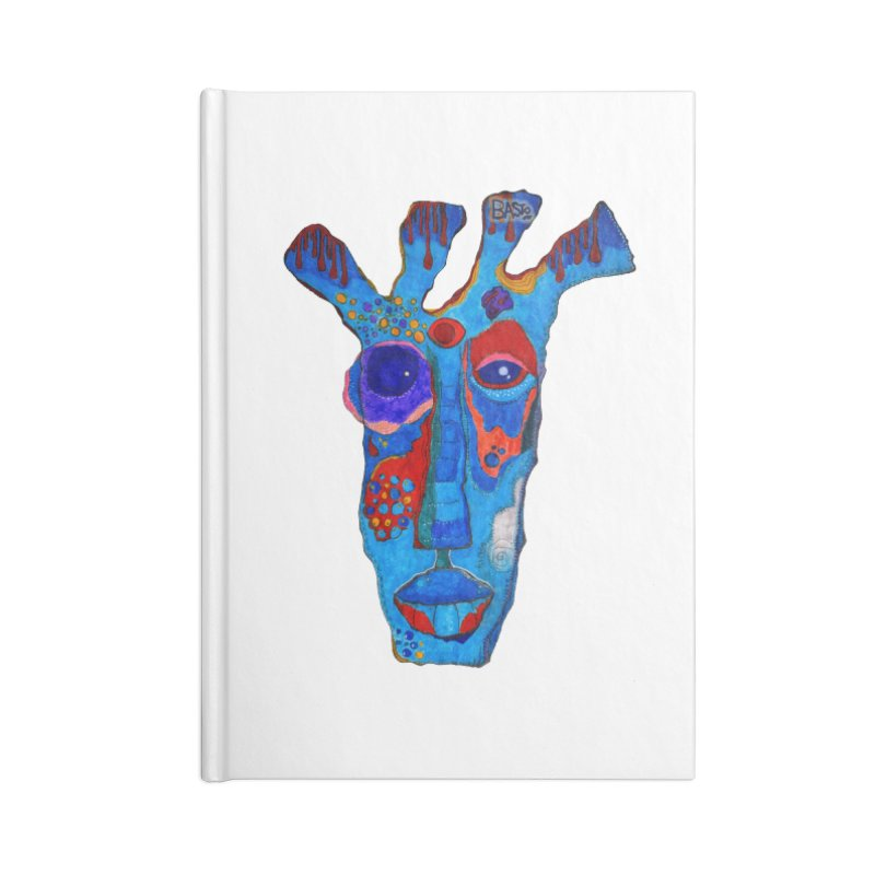 Shamanic Blues Accessories Lined Journal Notebook by Baston's T-Shirt Emporium!