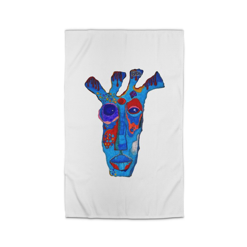 Shamanic Blues Home Rug by Baston's T-Shirt Emporium!