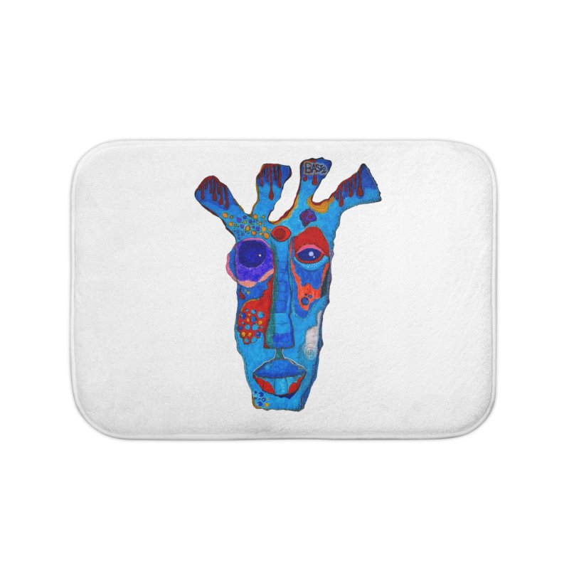 Shamanic Blues Home Bath Mat by Baston's T-Shirt Emporium!