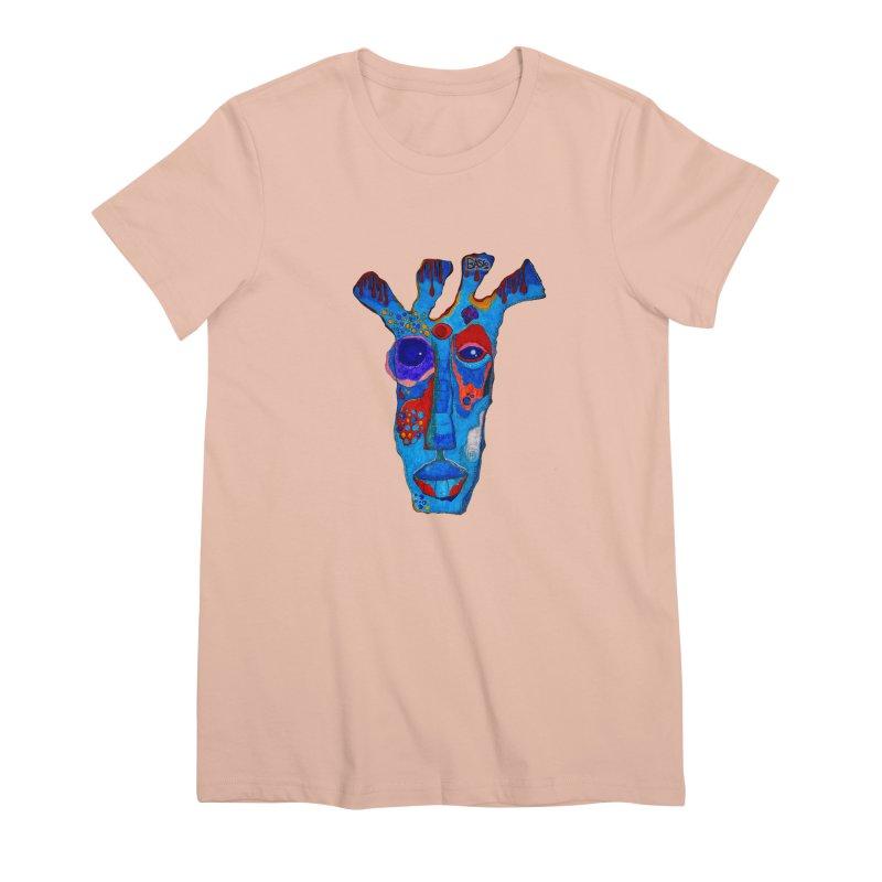 Shamanic Blues Women's Premium T-Shirt by Baston's T-Shirt Emporium!