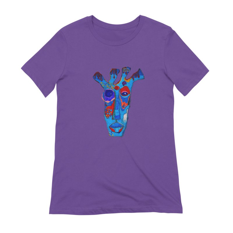 Shamanic Blues Women's Extra Soft T-Shirt by Baston's T-Shirt Emporium!