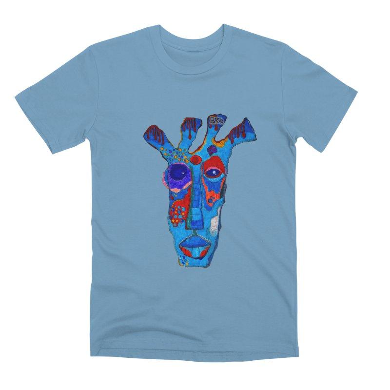 Shamanic Blues Men's Premium T-Shirt by Baston's T-Shirt Emporium!