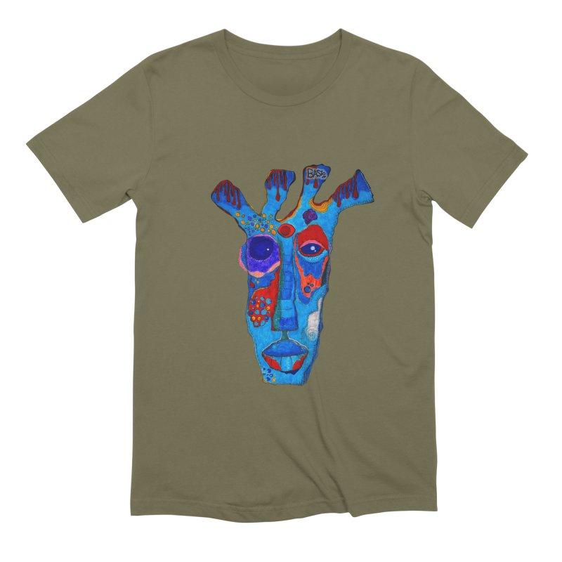 Shamanic Blues Men's Extra Soft T-Shirt by Baston's T-Shirt Emporium!