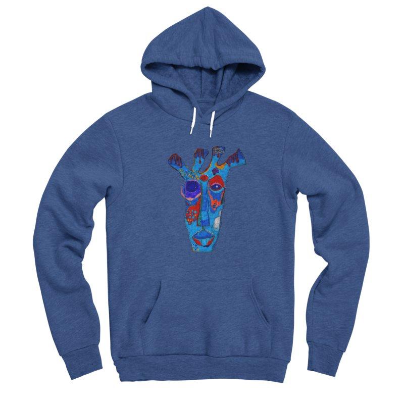 Shamanic Blues Women's Pullover Hoody by Baston's T-Shirt Emporium!