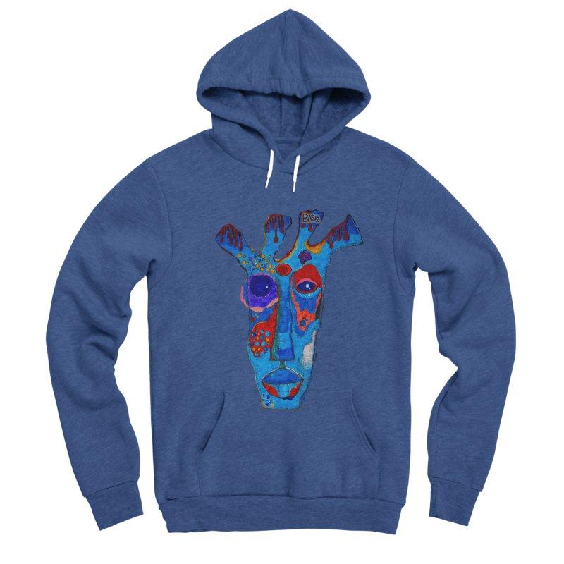 Shamanic Blues Women's Sponge Fleece Pullover Hoody by Baston's T-Shirt Emporium!