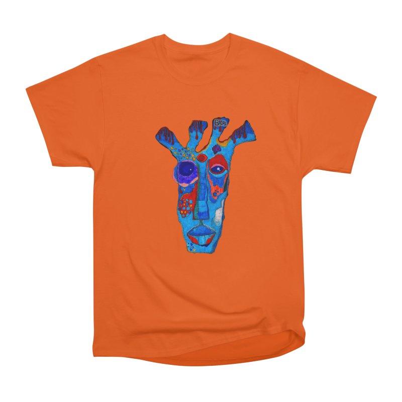 Shamanic Blues Men's Heavyweight T-Shirt by Baston's T-Shirt Emporium!