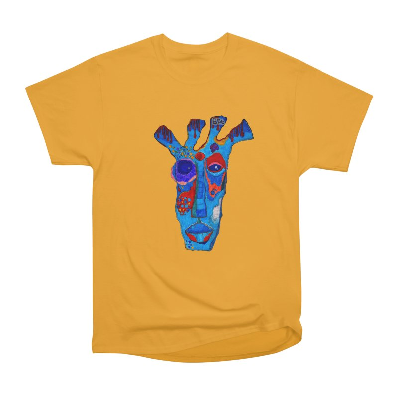 Shamanic Blues Men's Heavyweight T-Shirt by Baston's T-Shirt Emporium!