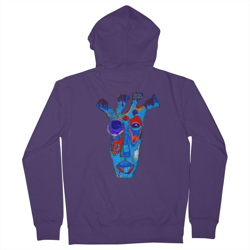 Shamanic Blues Women's Zip-Up Hoody by Baston's T-Shirt Emporium!